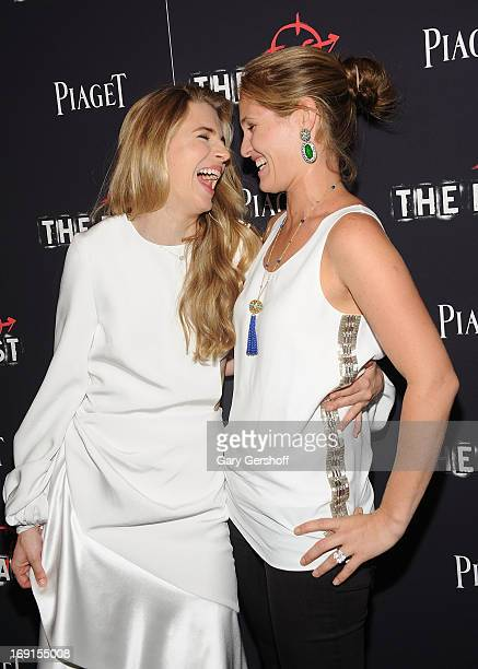 Actress Brit Marling and Jane Bloomingdale attend 'The East' premiere at Landmark's Sunshine Cinema on May 20 2013 in New York City