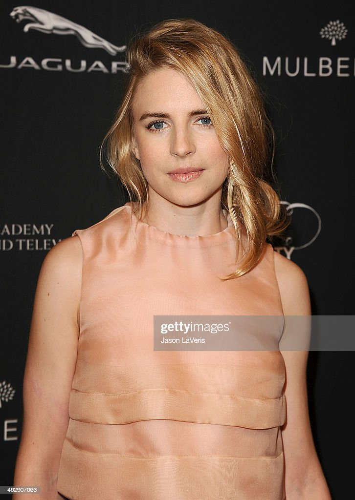 Actress Brit Marling attends the BAFTA LA 2014 awards season tea party at Four Seasons Hotel Los Angeles at Beverly Hills on January 11, 2014 in Beverly Hills, California.