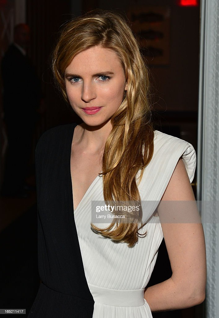 Actress Brit Marling attends 'The Company You Keep' New York Premiere After Party at Harlow on April 1 2013 in New York City