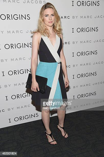 Actress Brit Marling attends the 'I Origins' New York Premiere at Landmark's Sunshine Cinema on July 10 2014 in New York City