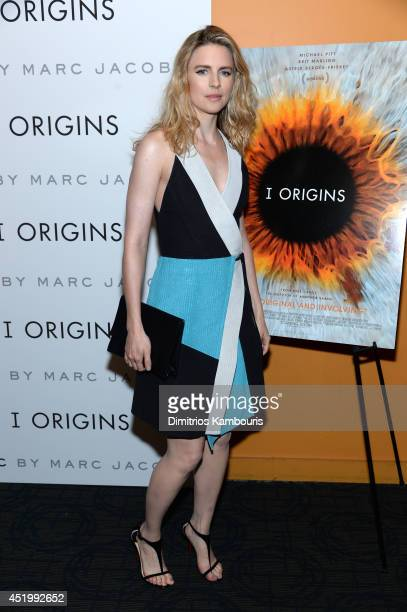 Actress Brit Marling attends the 'I Origins' screening at Sunshine Landmark on July 10 2014 in New York City