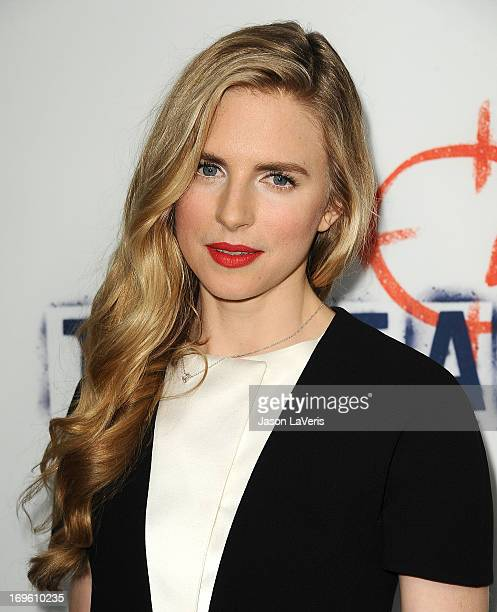 Actress Brit Marling attends the premiere of 'The East' at ArcLight Hollywood on May 28 2013 in Hollywood California