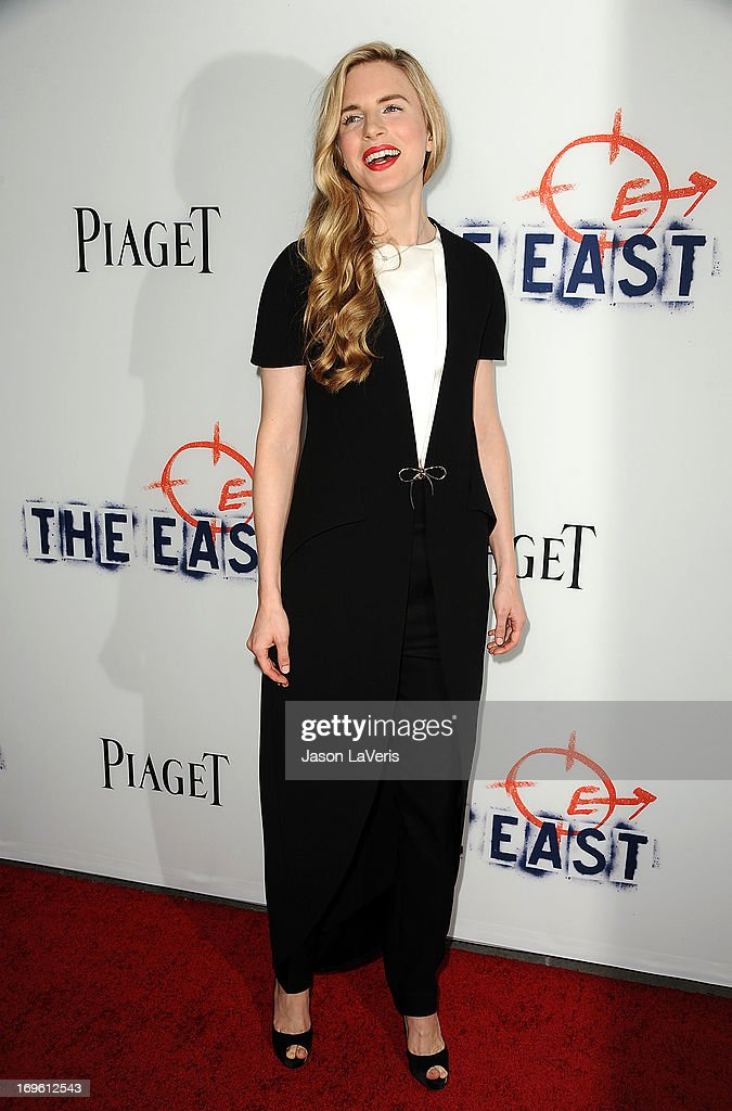 Actress Brit Marling attends the premiere of 'The East' at ArcLight Hollywood on May 28, 2013 in Hollywood, California.