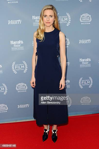 Actress Brit Marling attends Variety's Night with the Stars during the San Diego Film Festival at Museum of Contemporary Art on October 1 2015 in La...