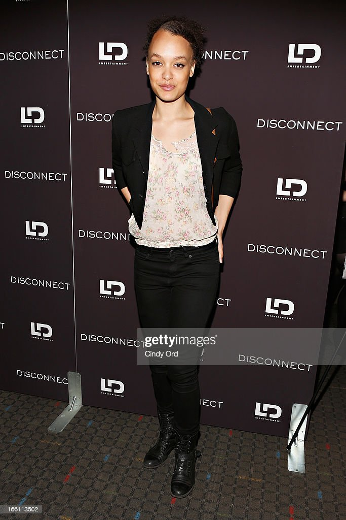 Actress Britne Oldford attends the 'Disconnect' New York Special Screening at SVA Theater on April 8 2013 in New York City