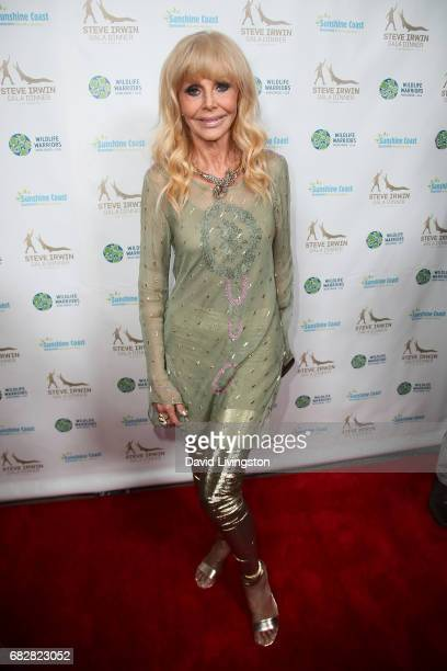 Actress Britt Ekland attends the Steve Irwin Gala Dinner at the SLS Hotel at Beverly Hills on May 13 2017 in Los Angeles California