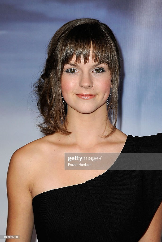 Actress Britt Flatmo arrives at Paramount Pictures' 'Super 8' Blu-ray and DVD release party at AMPAS Samuel Goldwyn Theater on November 22, 2011 in Beverly Hills, California.