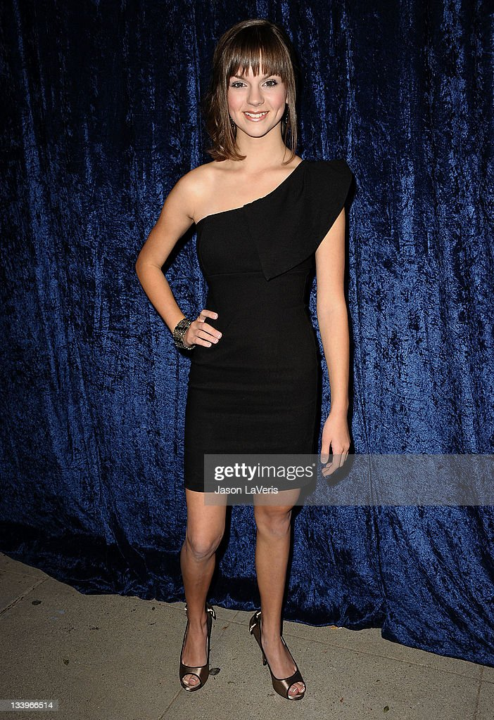 Actress Britt Flatmo attends the 'Super 8' blu-ray and DVD release party at AMPAS Samuel Goldwyn Theater on November 22, 2011 in Beverly Hills, California.