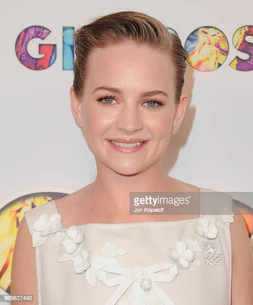 Actress Britt Robertson arrives at the premiere of Netflix's 'Girlboss' at ArcLight Cinemas on April 17 2017 in Hollywood California