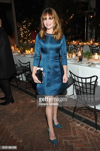 Actress Britt Robertson attends Dior Lady Art Los Angeles Popup Boutique Opening Event on December 6 2016 in Beverly Hills California