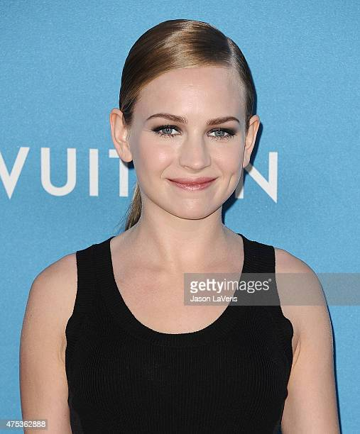 Actress Britt Robertson attends the 2015 MOCA Gala at The Geffen Contemporary at MOCA on May 30 2015 in Los Angeles California