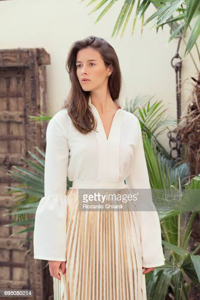 Actress Brittany Ashworth is photographed for Self Assignment on May 25 2017 in Cannes France