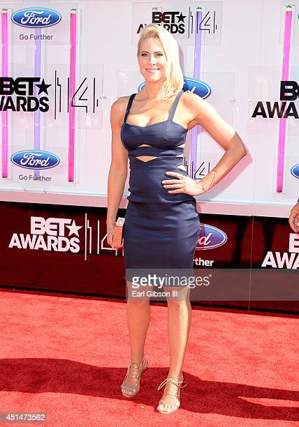 Actress Brittany Daniel attends the BET AWARDS '14 at Nokia Theatre LA LIVE on June 29 2014 in Los Angeles California