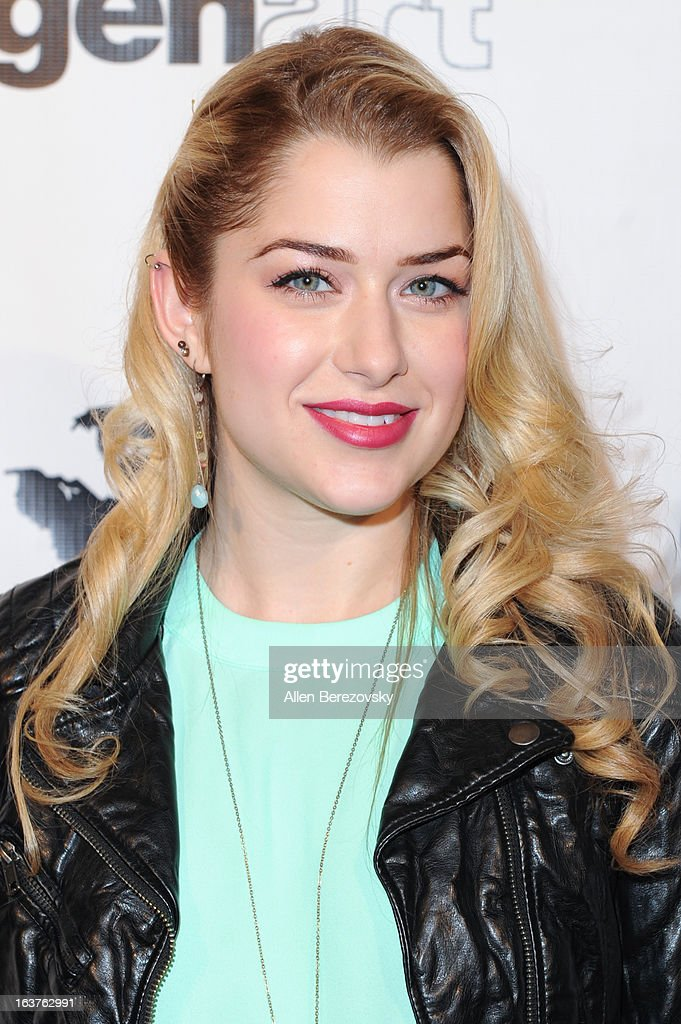 Actress Brittany Finamore arrives at the Los Angeles premiere of 'The Kitchen' at Laemmle NoHo 7 on March 14, 2013 in North Hollywood, California.