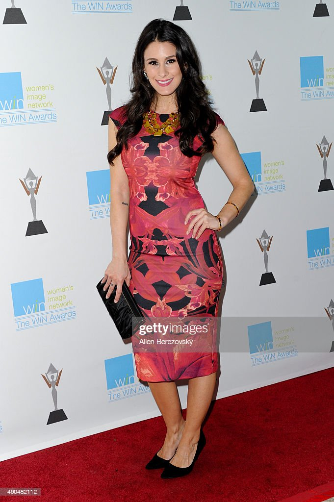 Actress Brittany Furlan arrives at Women's Image Network's 16th annual Women's Image Awards at Beverly Hills Women's Club on December 14, 2014 in Beverly Hills, California.