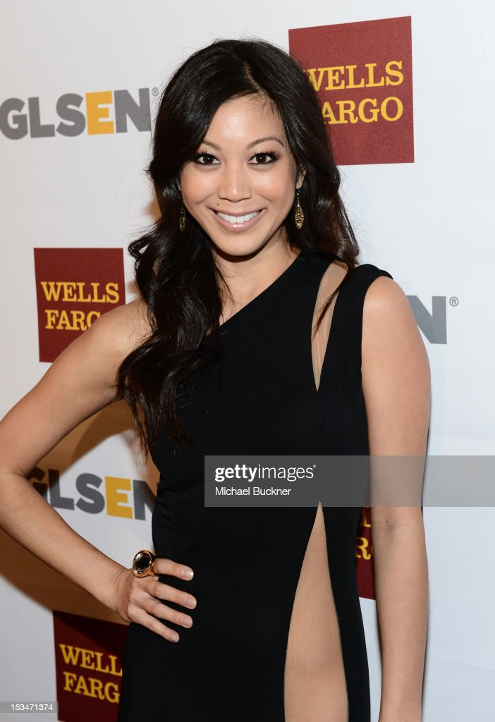 Actress Brittany Ishibashi arrives at the 8th Annual GLSEN Respect Awards held at Beverly Hills Hotel on October 5, 2012 in Beverly Hills, California.