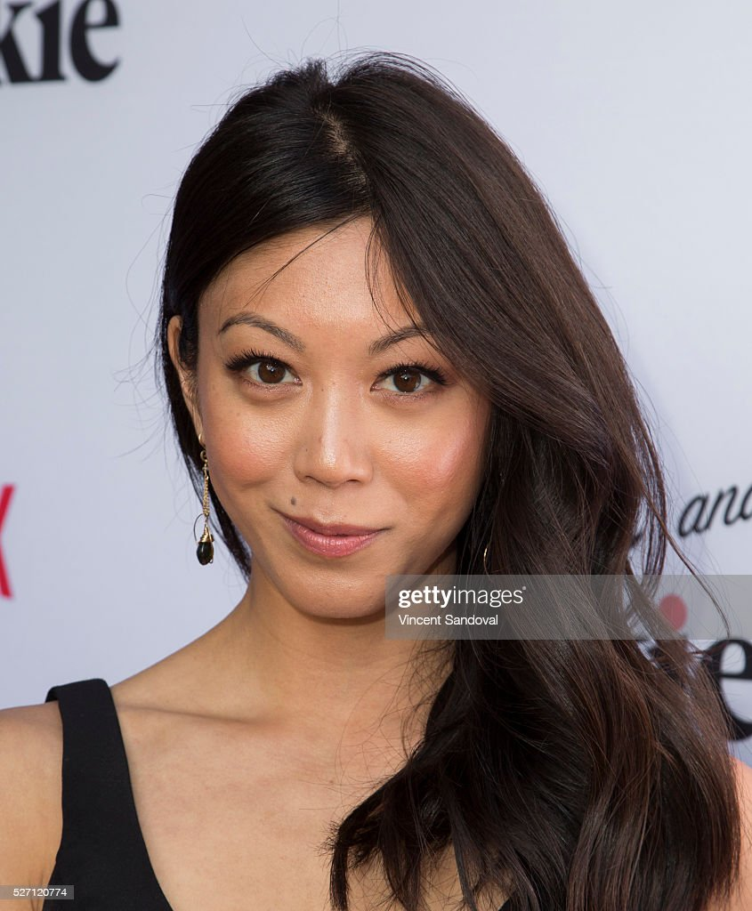 Actress <a gi-track='captionPersonalityLinkClicked' href=/galleries/search?phrase=Brittany+Ishibashi&family=editorial&specificpeople=5460200 ng-click='$event.stopPropagation()'>Brittany Ishibashi</a> attends Netflix Original Series 'Grace & Frankie' season 2 premiere at Harmony Gold on May 1, 2016 in Los Angeles, California.