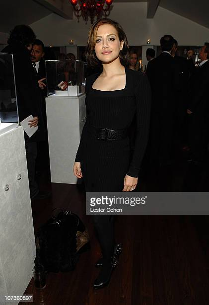 *EXCLUSIVE* Actress Brittany Murphy attends L'Oreal Paris' 'A Night of Hope' hosted by L'Oreal president Carol J Hamilton Diane Keaton and Andie...