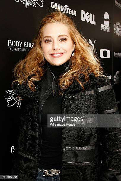 Actress Brittany Murphy attends Rock the Vote at the House of Hype Daytime Hospitality Lounge on January 18 2008 in Park City Utah