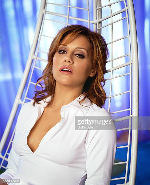 Actress Brittany Murphy photographed in 2001 for Parade Magazine in Los Angeles California