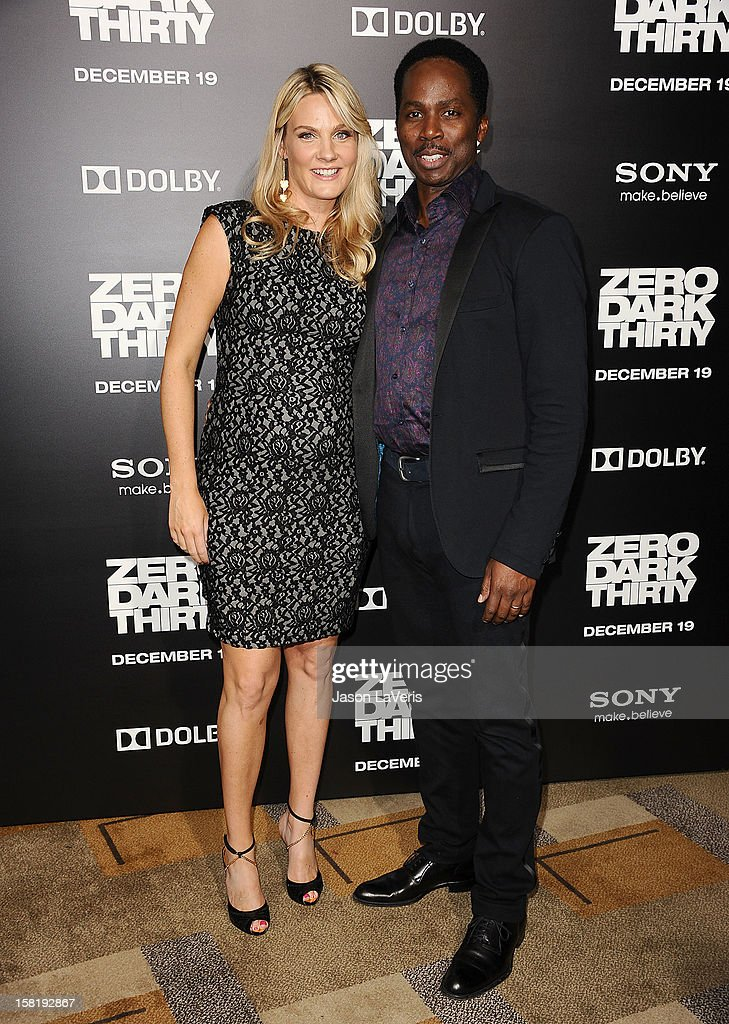 Actress Brittany Perrineau and actor Harold Perrineau attend the premiere of 'Zero Dark Thirty' at the Dolby Theatre on December 10, 2012 in Hollywood, California.