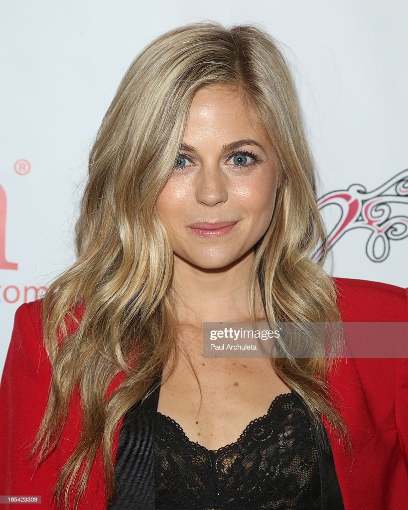 Actress Brittany Ross attends iiJin's Fall/Winter 2013 'The Love Revolution' fashion show at Avalon on April 3, 2013 in Hollywood, California.