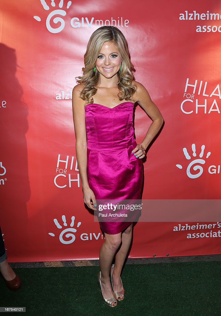 Actress Brittany Ross attends the 2nd annual Hilarity for Charity Event at Avalon on April 25, 2013 in Hollywood, California.