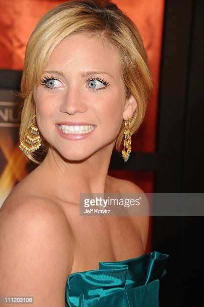 Actress Brittany Snow arrives at the 13th ANNUAL CRITICS' CHOICE AWARDS at the Santa Monica Civic Auditorium on January 7 2008 in Santa Monica...