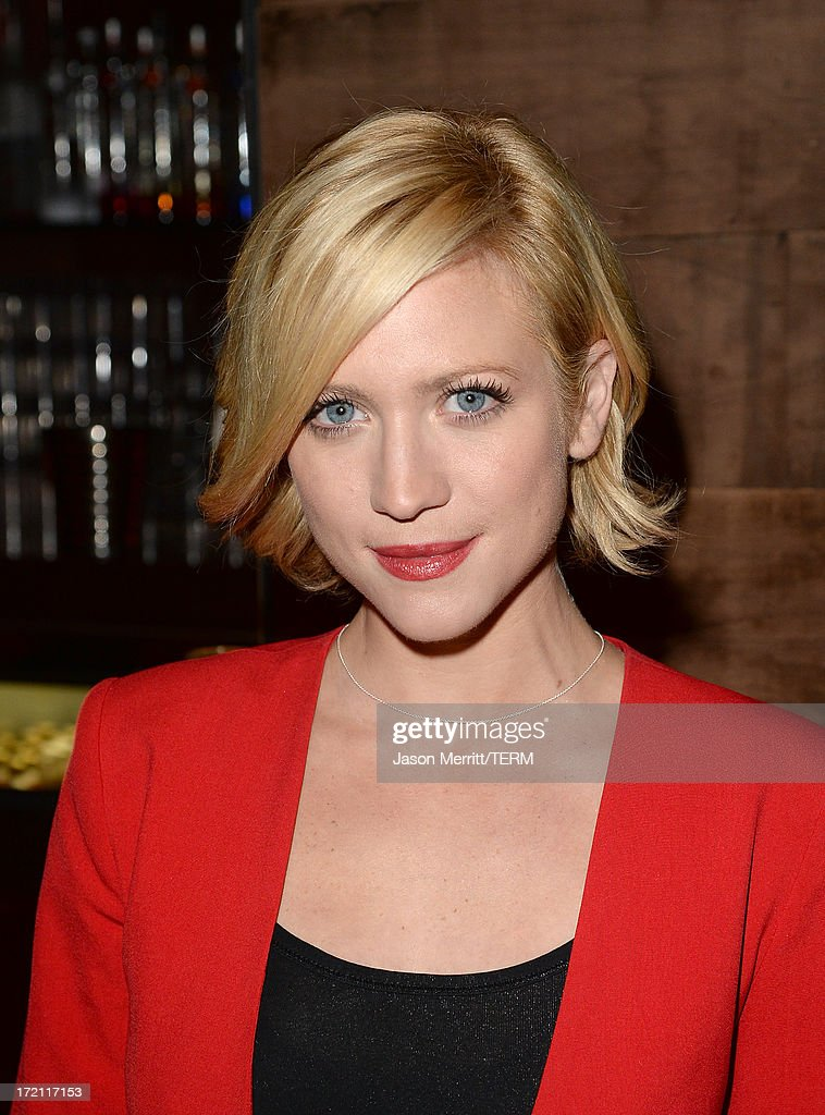 Actress <a gi-track='captionPersonalityLinkClicked' href=/galleries/search?phrase=Brittany+Snow&family=editorial&specificpeople=206624 ng-click='$event.stopPropagation()'>Brittany Snow</a> attends a private event at Hyde Lounge hosted by Dell for the Beyonce concert at The Staples Center on July 1, 2013 in Los Angeles, California.