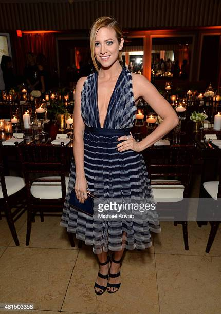 Actress Brittany Snow attends ELLE's Annual Women in Television Celebration on January 13 2015 at Sunset Tower in West Hollywood California Presented...