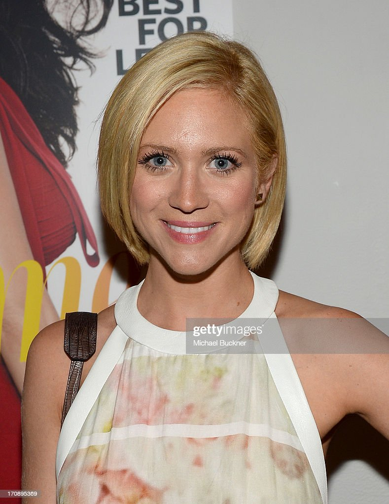 Actress Brittany Snow attends Mary-Kate Olsen, Ashley Olsen, and InStyle Editor Ariel Foxman celebrate the launch of the Elizabeth and James Fall 2013 Handbag Collection at a cocktail party held at Chateau Marmont in West Hollywood on June 19, 2013.