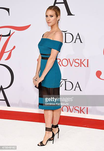 Actress Brittany Snow attends the 2015 CFDA Fashion Awards at Alice Tully Hall at Lincoln Center on June 1 2015 in New York City