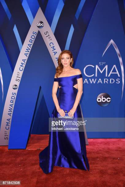 Actress Brittany Snow attends the 51st annual CMA Awards at the Bridgestone Arena on November 8 2017 in Nashville Tennessee