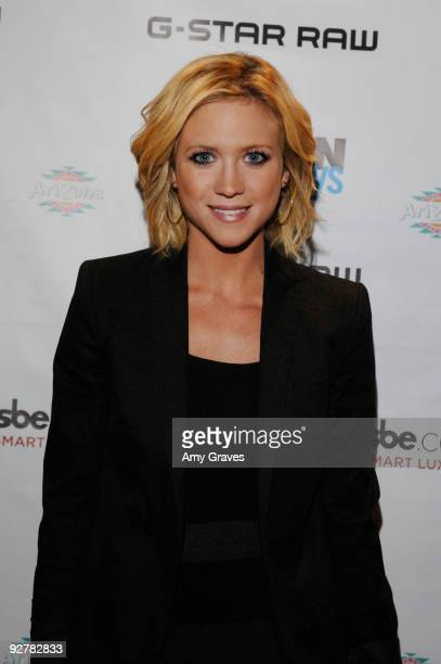 Actress Brittany Snow attends the NYLON Guys November Issue Launch Event at XIV on November 4 2009 in West Hollywood California
