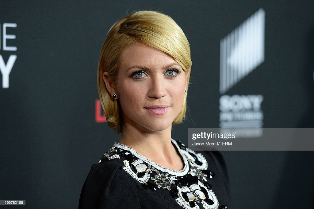 Actress Brittany Snow attends the premiere of Lifetime's 'Call Me Crazy: A Five Film' at Pacific Design Center on April 16, 2013 in West Hollywood, California.