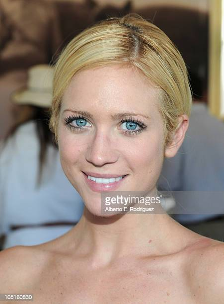 Actress Brittany Snow attends the Veuve Clicquot Polo Classic Los Angeles at Will Rogers State Historic Park on October 10 2010 in Pacific Palisades...