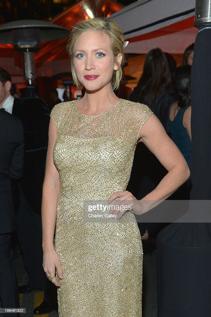 Actress Brittany Snow attends The Weinstein Company's 2013 Golden Globe Awards After Party presented by Chopard held at The Old Trader Vic's at The Beverly Hilton Hotel on January 13, 2013 in Beverly Hills, California.