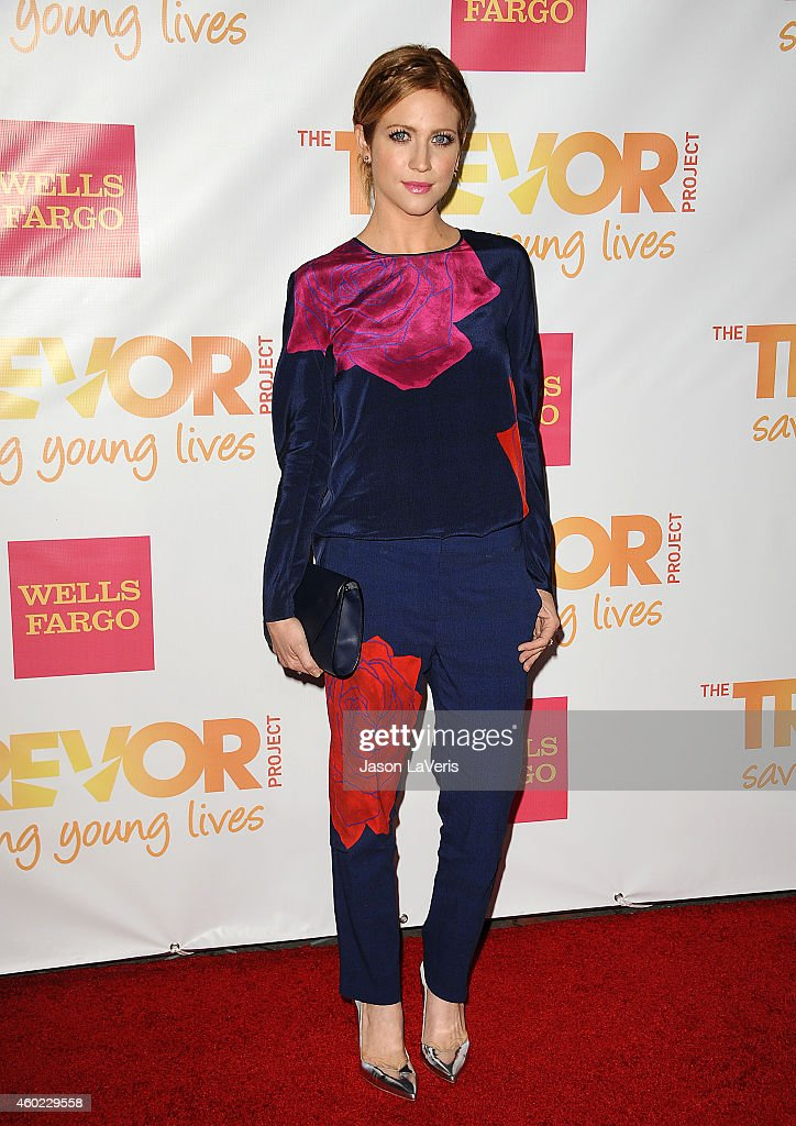 Actress Brittany Snow attends TrevorLIVE Los Angeles at the Hollywood Palladium on December 7 2014 in Los Angeles California