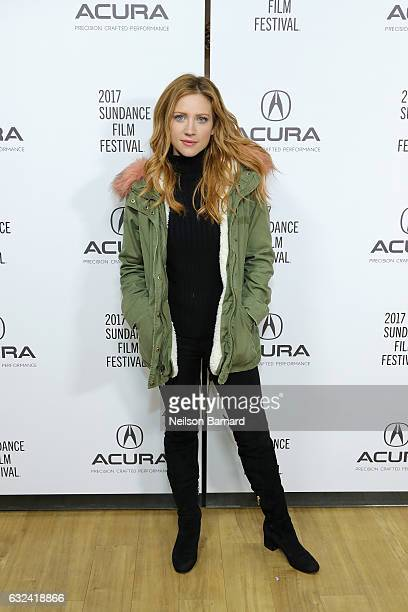 Actress Brittany Snow of 'Bushwick' attends the Acura Studio during Sundance Film Festival on January 22 2017 in Park City Utah