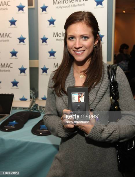 Actress Brittany Snow visits the Kari Feinstein Sundance Style Lounge on January 17 2009 in Park City Utah