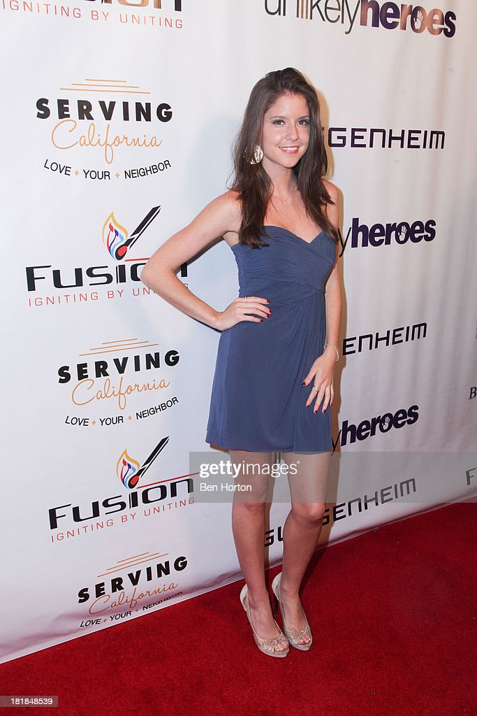 Actress <a gi-track='captionPersonalityLinkClicked' href=/galleries/search?phrase=Brittany+Underwood&family=editorial&specificpeople=2340508 ng-click='$event.stopPropagation()'>Brittany Underwood</a> attends the Guggenheim partners present: The Justice Ball at Boulevard3 on September 24, 2013 in Hollywood, California.