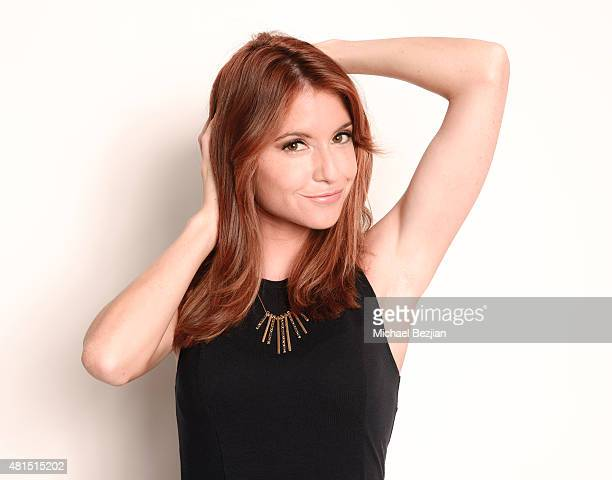 Actress Brittany Underwood poses for portrait at Moods Of Norway Hosts The SAP The Starving Artists Project on July 21 2015 in Los Angeles California