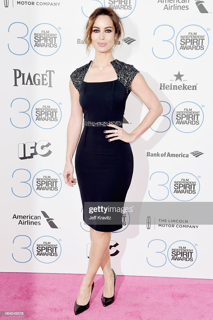 Actress Bérénice Marlohe attends the 2015 Film Independent Spirit Awards on February 21 2015 in Santa Monica California