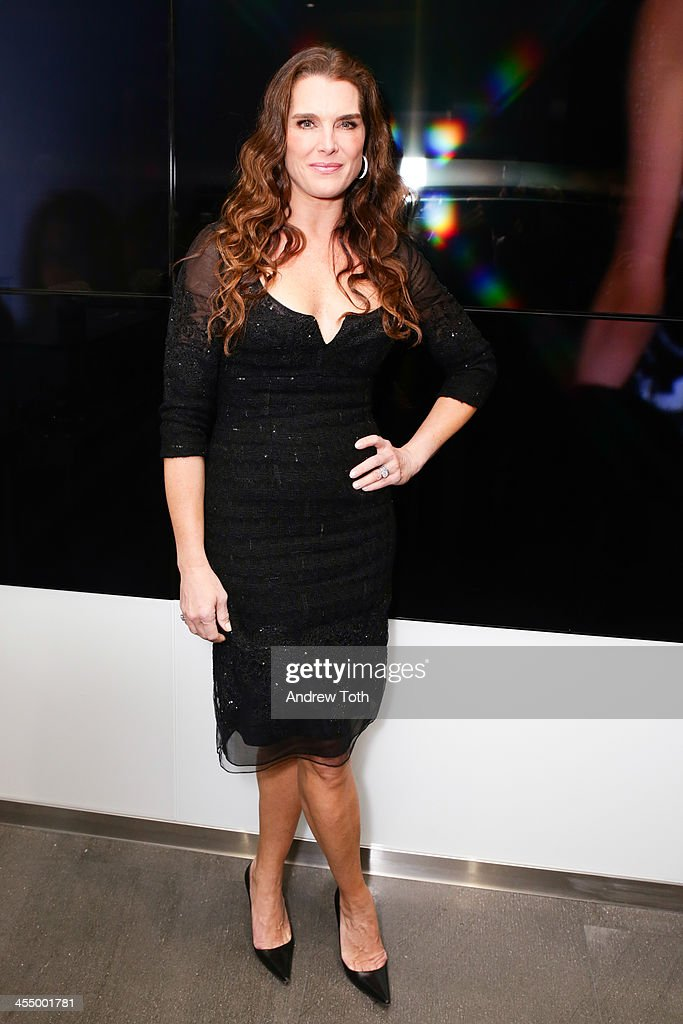 Actress Brook Shields attends the Dennis Basso Store Opening at Dennis Basso Store on December 10, 2013 in New York City.