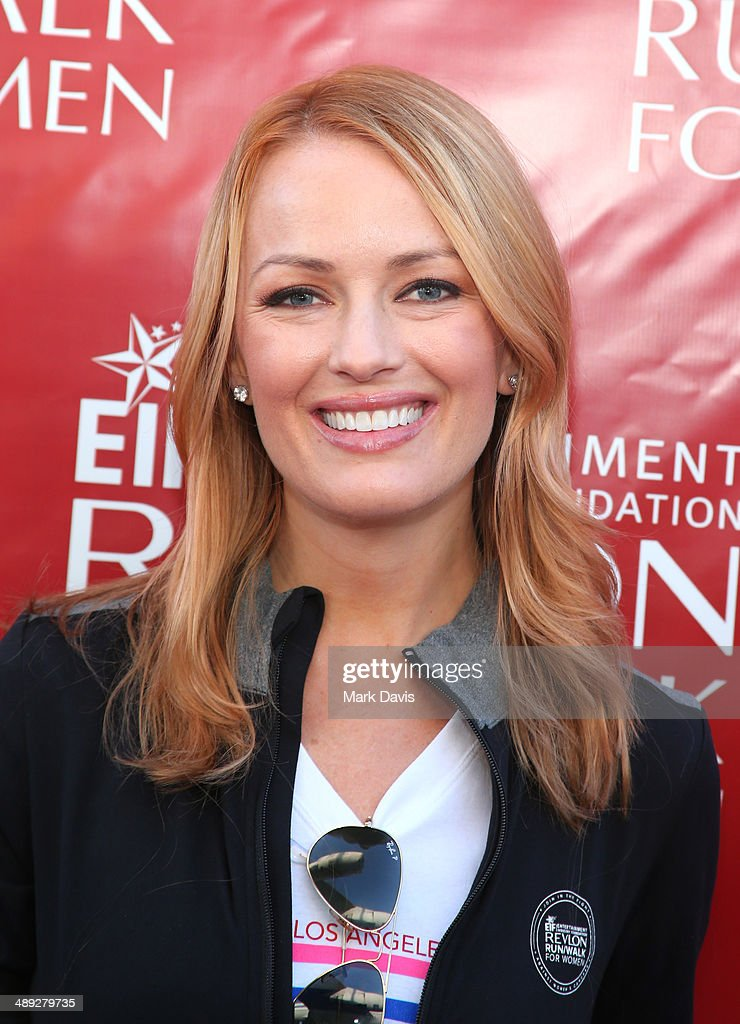 Actress Brooke Anderson attends the 21st Annual EIF Revlon Run Walk For Women at Los Angeles Memorial Coliseum on May 10, 2014 in Los Angeles, California.