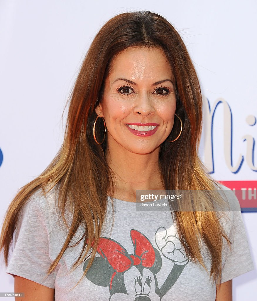 Actress <a gi-track='captionPersonalityLinkClicked' href=/galleries/search?phrase=Brooke+Burke&family=editorial&specificpeople=203216 ng-click='$event.stopPropagation()'>Brooke Burke</a> attends the 'Mickey Through The Decades' collection celebration at Walt Disney Studios on July 13, 2013 in Burbank, California.