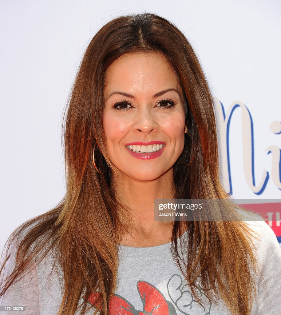 Actress <a gi-track='captionPersonalityLinkClicked' href=/galleries/search?phrase=Brooke+Burke&family=editorial&specificpeople=203216 ng-click='$event.stopPropagation()'>Brooke Burke</a> Charvet attends the 'Mickey Through The Decades' collection celebration at Walt Disney Studios on July 13, 2013 in Burbank, California.