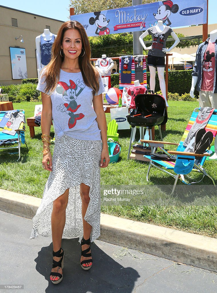 Actress Brooke Burke-Charvet attends Mickey Through The Decades Collection launch celebration at Walt Disney Studio Lot on July 13, 2013 in Burbank, California.