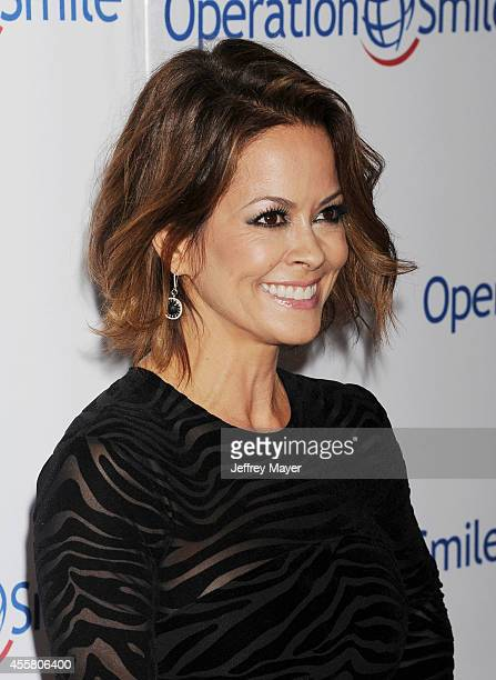Actress Brooke BurkeCharvet attends the 2014 Operation Smile Gala at the Beverly Wilshire Four Seasons Hotel on September 19 2014 in Beverly Hills...