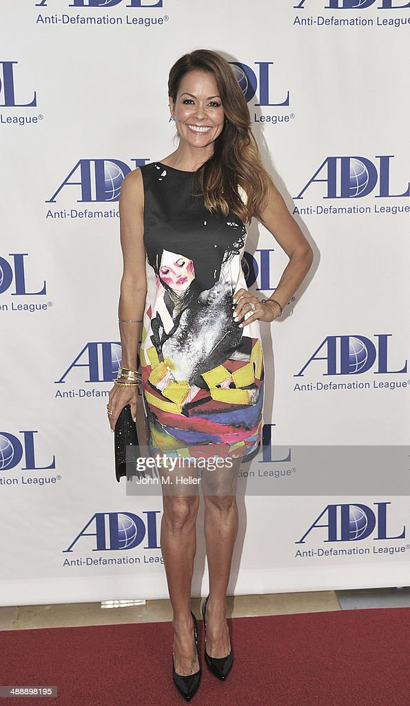 Actress Brooke Burke-Charvet attends the Anti-Defamation League Entertainment Industry Dinner honoring Roma Downey and Mark Burnett at The Beverly Hilton Hotel on May 8, 2014 in Beverly Hills, California.
